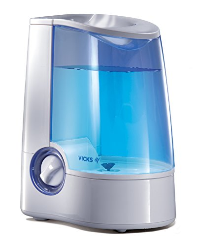 Vicks Warm Mist Humidifier, Small to Medium Rooms, 1 Gallon Tank
