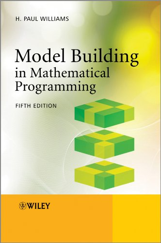 Model Building in Mathematical Programming (English Edition)