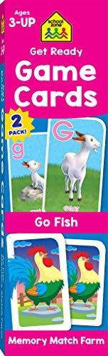 School Zone - Get Ready Game Cards …