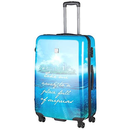 Saxoline Blue Island 4-Rollen Trolley 67 cm Blue Island