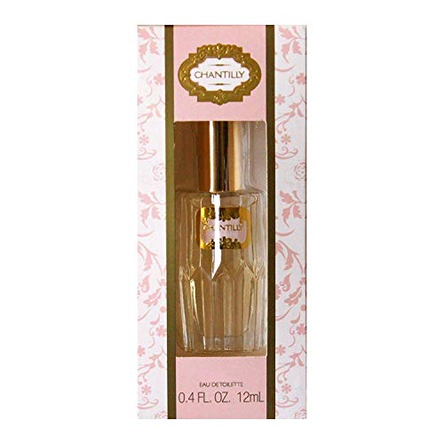 Dana Classic Fragrances Chantilly Eau de Toilette Mini Splash for Women, 0.4 Ounce Travel Size