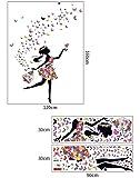 Zoom IMG-1 kibi adesivi muro elf fiori