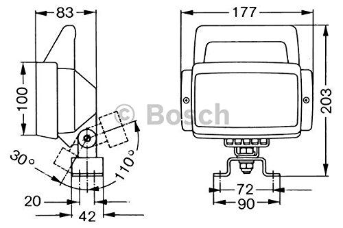 Bosch 0306482010 Projecteur