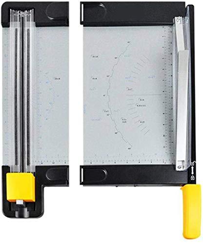 Cortadora de papel Cortadora de precisión Cortadora de papel fotográfico de oficina en casa Cortadora de baúles de álbum de plástico portátil Cortadora de alfombrillas de oficina para papel A4