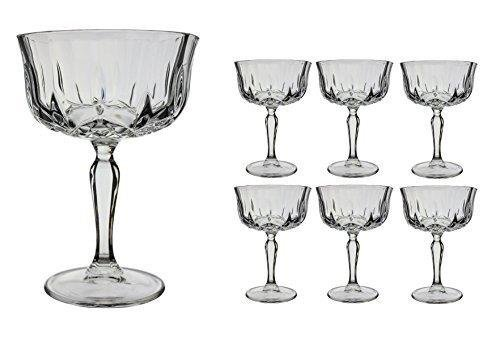 RCR Crystal for Fittings Gifts 25044020006 - Set de Copas para Champagne...