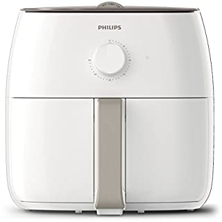 Philips Air Fryer Premium XXL for Fry/Bake/Grill/Roast with Fat Removal and Rapid Air Technology, 1.4kg Capacity, White, HD9630/21 (B07D2D9GR4) | Amazon price tracker / tracking, Amazon price history charts, Amazon price watches, Amazon price drop alerts