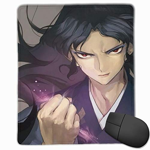 Japanese Manga Anime Inuyasha Naraku Mouse Pad for Laptop Pc, Portable High-Performance Mouse Mat with Rubber Base, Best Mousepad for Desktop - 9.8x11.8 in