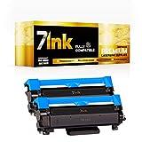 Pack de 2 cartuchos de tóner compatibles TN2420 TN-2420 como repuesto para Brother TN-2410 para Brother MFC-L2710DW HL-L2350DW DCP-L2530DW HL-L2370DN DCP-L2510D HL-L2375DW HL-L2310D (2 )