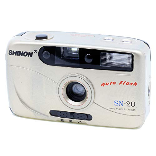 Camara Motor 35Mm Shinon Sn-20 Dorada Auto Flash