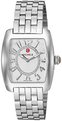 MICHELE Women's 'Urban Mini' Swiss Quartz Stainless Steel Casual Watch,...