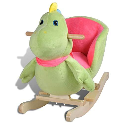 vidaXL Balancín de Animal Dinosaurio Para Niños Pequeño balancín niños 12 meses