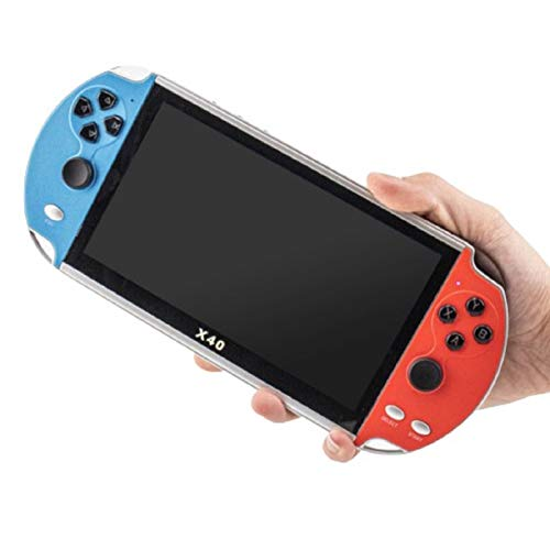 X40 Handheld-Spielekonsole 7.1-Zoll-Retro-Videospielkonsole Integrierte 22800-Spiele, Unterstützung für FC / GBA / GBC / MD / NES / SFC / PS / Arcade-Spiele