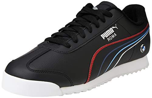 PUMA Unisex BMW MMS Roma Sneaker, Schwarz Weiß, 39 EU