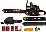 """Best Petrol Chainsaws - BU-KO 62cc Petrol Chainsaw 3.4HP 20"""" Bar Review"""