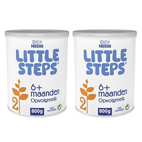 Little Steps 2 Opvolgmelk Standaard 6+ maanden - 2 blikken van 800 gram