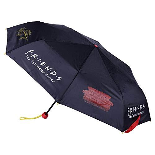 CERDÁ LIFE'S LITTLE MOMENTS- Paraguas de Mano Plegable de Friends - Licencia...