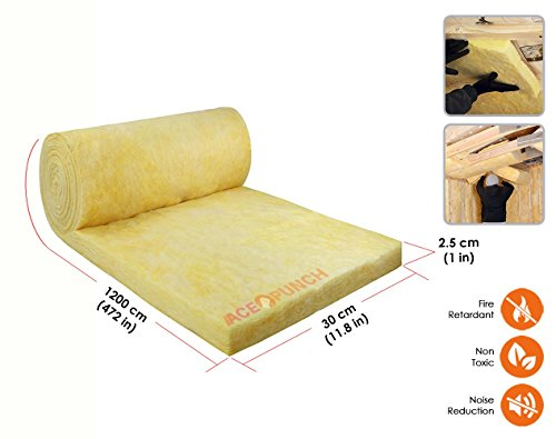 Fiberglass acoustic insulation