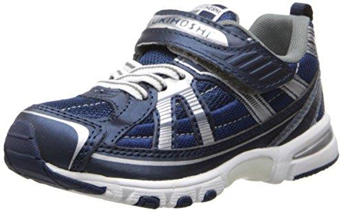 TSUKIHOSHI 3570 Storm Child Shoe, Navy/Silver - 13.5 Little Kid (4-8 years)