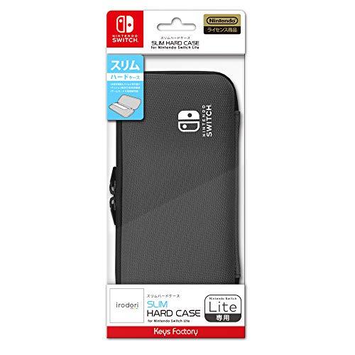 【任天堂ライセンス商品】SLIM HARD CASE for Nintendo Switch Lite チャコールグレー