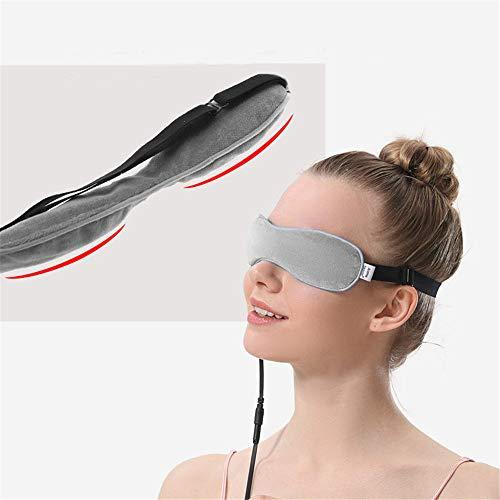 BCLGCF Feuchtigkeitsspendende Und Erwärmende Augenmaske, Leinsamen, Wärmetherapie, Ausbaggerung Der Drüsen, Linderung des Syndroms des Trockenen Auges, Geschwollene Augen, Müde Augen Und Augenringe