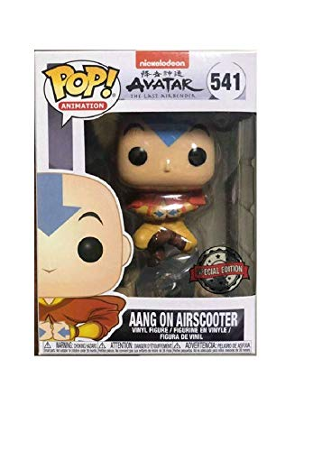 Funko Pop! Avatar The Last Airbender Aang on Airscooter Special Edition Sticker Figure