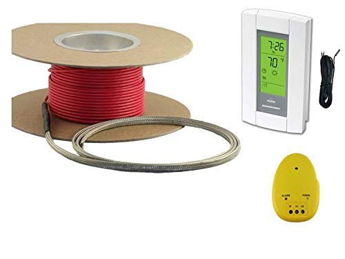 20 Sqft Cable Set, Electric Radiant Floor Heat Heating System with Aube Digital Floor Sensing Thermo - http://coolthings.us