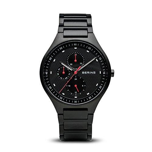 BERING Herren-Armbanduhr Analog Quarz Titan 11741-772