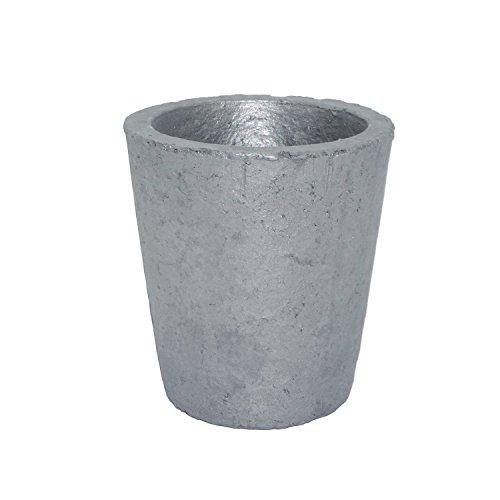 坩堝 炭化ケイ素黒鉛るつぼ 鋳造インゴット 金型 鋳型るつぼ シルバーゴールド溶融 金銀銅融解用 (3#)