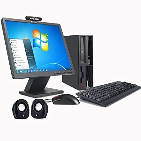 (Renewed) Lenovo ThinkCentre 17 inch All In One Desktop set (Intel C2D – Dual Core/4 GB/320 GB /17″ Monitor+Keyboard+Mouse+ Webcam+Mic+Speakers+Wifi/Warranty/Windows 7 Pro/MS Office 2013)