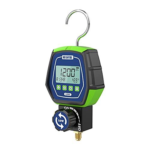 L202 Manometro Digitale Gas Bassa Pressione HVAC Refrigerante Collettore Manometri Digitali per Sistemi di Refrigerazione Condizionatori R32 R410a