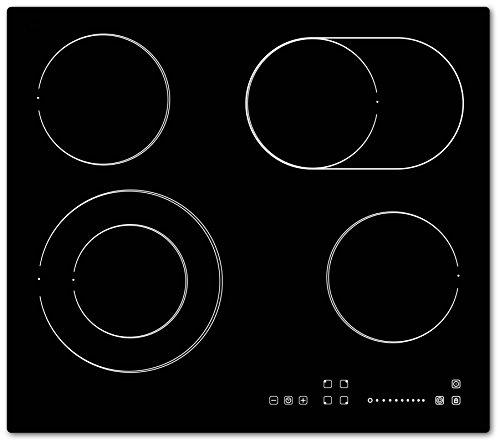 Bomann EBK 957.1 Einbau-Glaskeramik-Kochfeld / 60 cm / elektronische Steuerung