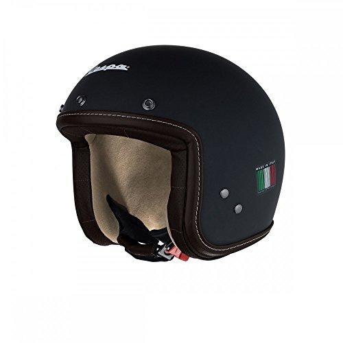 VESPA P-Xential - Casco, color negro mate