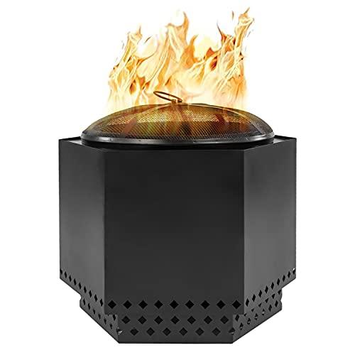 chimenea de leña de la marca Dragonfire