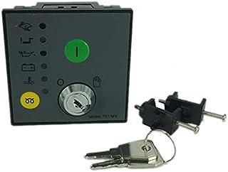 Bestlymood DSE701-MS Controlador de Arranque Del Motor Clave Grupo ElectróGeno MóDulo de Control de Componentes Controlador Generador