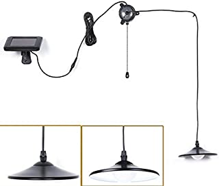 Solar Lights,Kyson Solar Powered Led Shed Light with Remote Control and Pull Cord for Indoor Outdoor Use