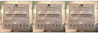 GlamGlow SuperMud Clearing Treatment Sample Packets 3 Pcs (.21oz/6.3g Combined Total)
