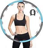 iAmotus Hula Hoop Fitness, Professionale Hula Hoop per Adulti per Dimagrire Design Ondulat...