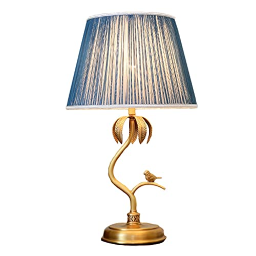 Living Room Bedroom Table Lamp Retro Pastoral Style Bedside Table Lamp Modern Minimalist Bedside Table Lamp Bedroom Study Living Room Table Lamp Decorative Lamps Bedside Nightstand Lamp ( Color : B )