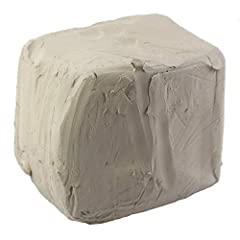 NATURAL CLAY – This 10lb block of white clay will help you bring your creative ideas to life! NO KILN NEEDED – Slowly and evenly air-dry clay creations on all sides for best results. If dry before you're finished designing, add water to soften. Treat...