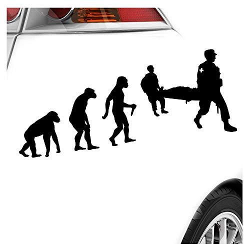 Kiwistar Sanitäter Rettung Evolution Aufkleber Sticker 25 Farben Neon Matt