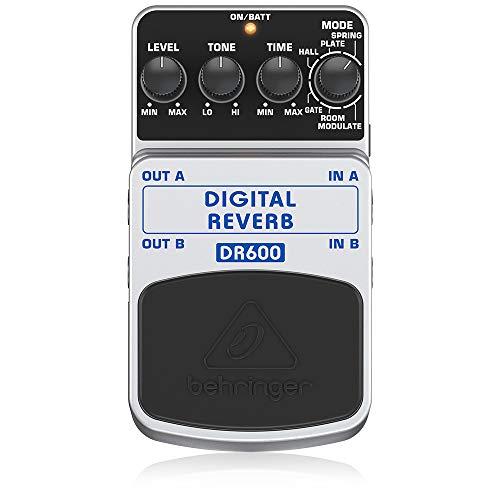 Behringer Digital Reverb DR600 Reverb Effektpedal
