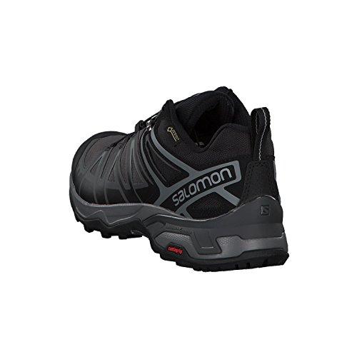 SALOMON X Ultra 3 GTX, Chaussures de Randonnée Basses Homme, Noir, 46 EU