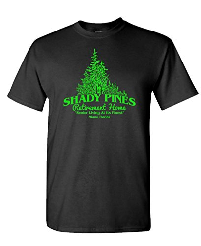 Shady Pines Retirement Home Golden Girls Tee, S to 3XL
