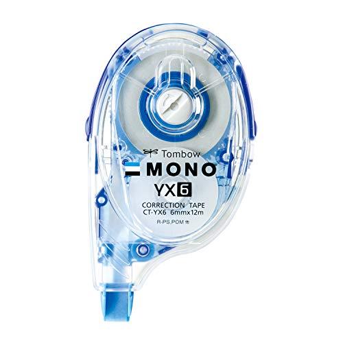 トンボ鉛筆 修正テープ MONO モノYX 6mm 10個 CT-YX6-10P