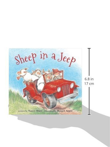 Sheep in a Jeep (board book)