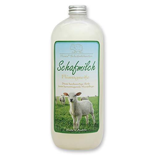 Florex mit biologischer Schafmilch Nachfüller 1L in der Flasche, Classic
