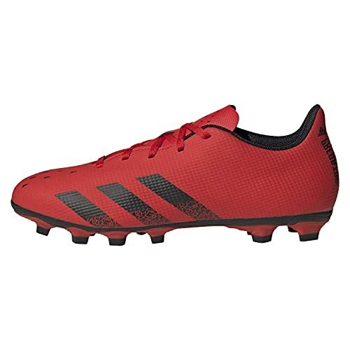 adidas Predator Freak .4 FxG, Zapatillas Deportivas Hombre, Rojo/NEGBÁS/Rojo, 45 1/3 EU