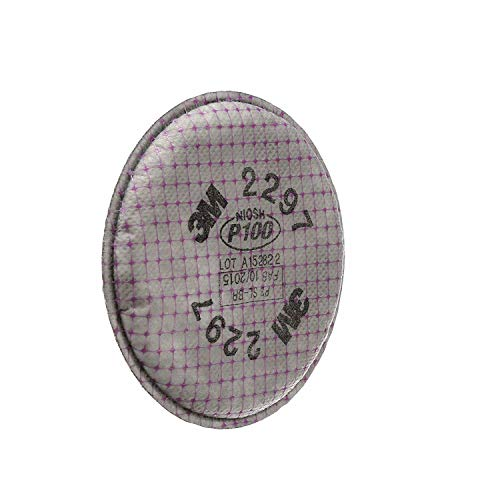 3M Advanced Particulate Filter, 2297, P101, 2 Count (5 Pack)