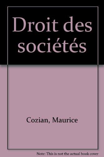 Droit des sociétés (ancienne édition)