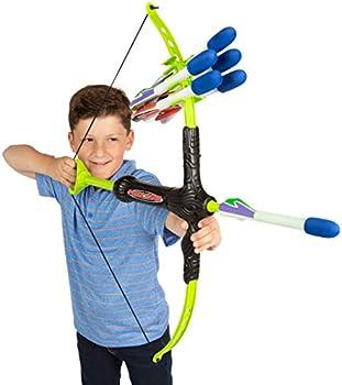Marky Sparky Faux Bow 3 Shoots Over Bow & Arrow Archery Set